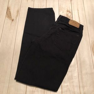 Polo Ralph Lauren Women's Black Jeans Size 20
